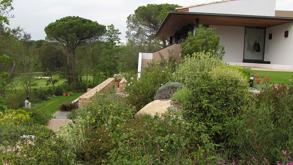Jardins del camp de golf PGA a Caldes de Malavella