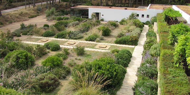 La sequera estival als jardins