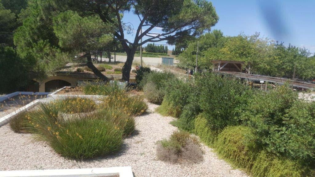 Cobertes per a jardí de l'Hostal Empùries